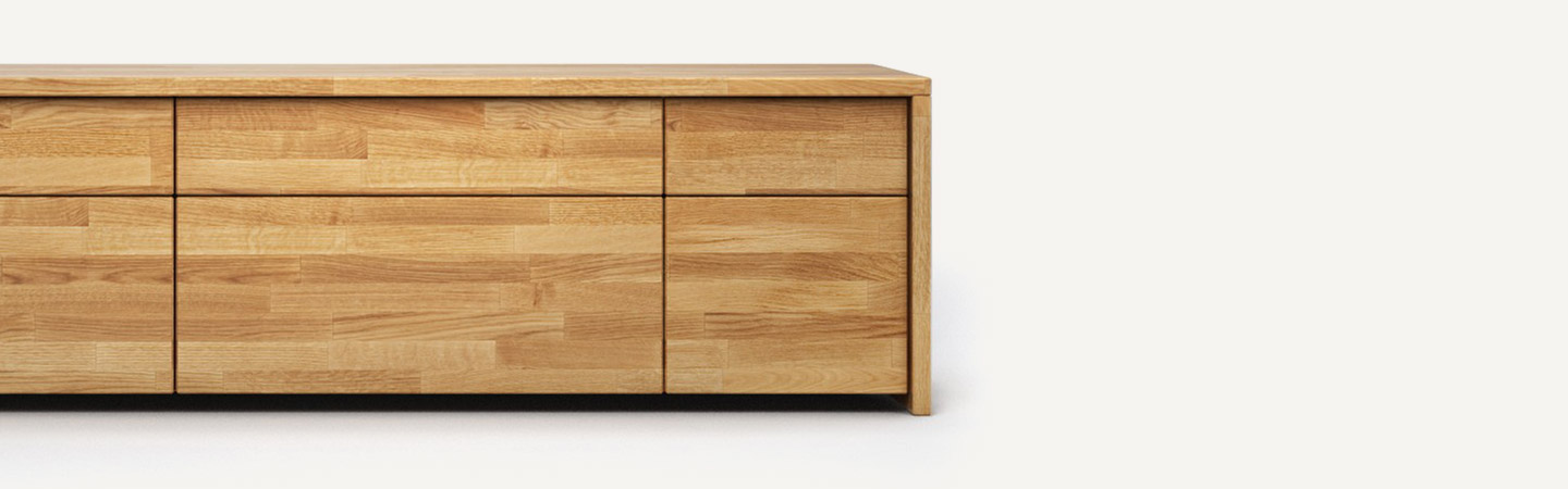 sideboards aus eiche rustikal bei holzconnection nach ma gefertigt. Black Bedroom Furniture Sets. Home Design Ideas