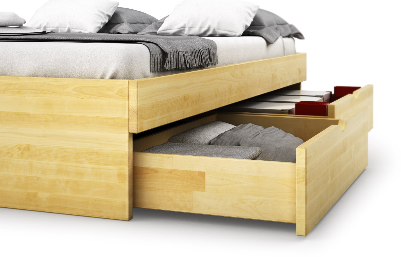 bett aus birke massivholzbett bett aragona birke 140x200 holzbett ehebett yadros ebay. Black Bedroom Furniture Sets. Home Design Ideas