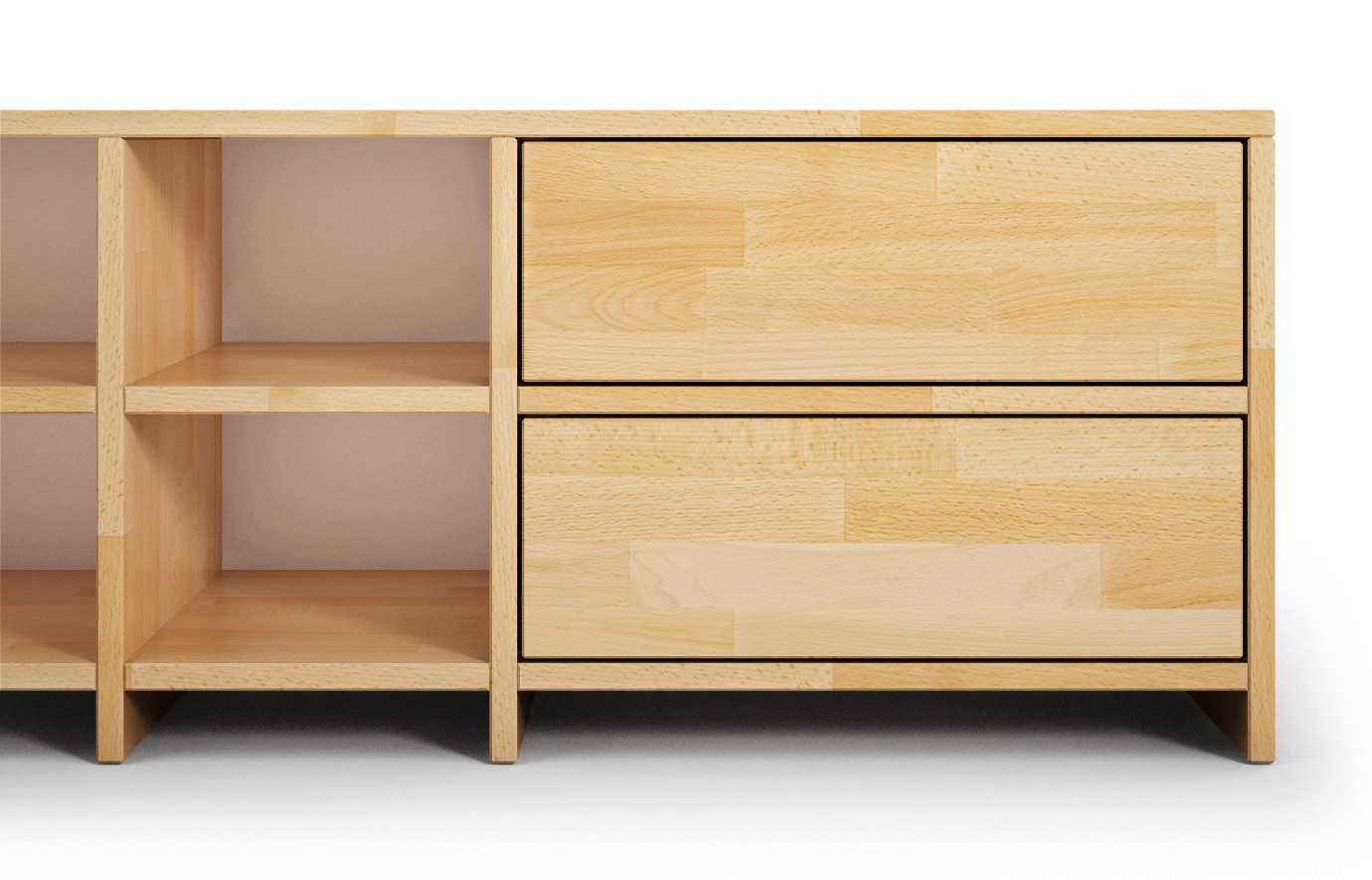 krems in buche hifi sideboard nach ma. Black Bedroom Furniture Sets. Home Design Ideas