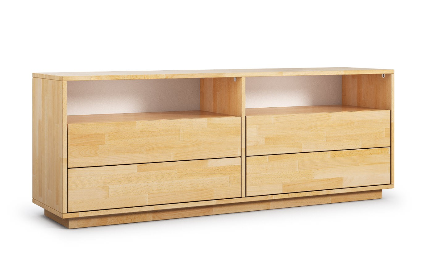 larisa in buche hifi sideboard nach ma. Black Bedroom Furniture Sets. Home Design Ideas