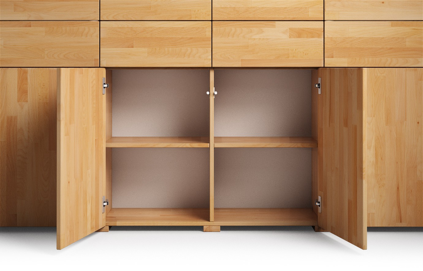 nassau in buche rustikal highboard. Black Bedroom Furniture Sets. Home Design Ideas