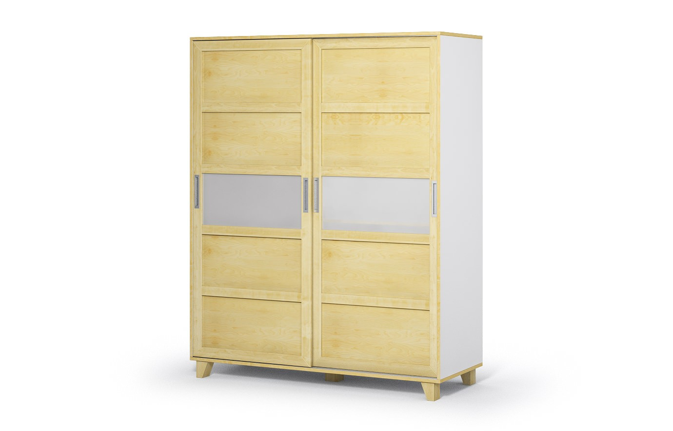 phoenix in birke kleiderschrank nach ma. Black Bedroom Furniture Sets. Home Design Ideas