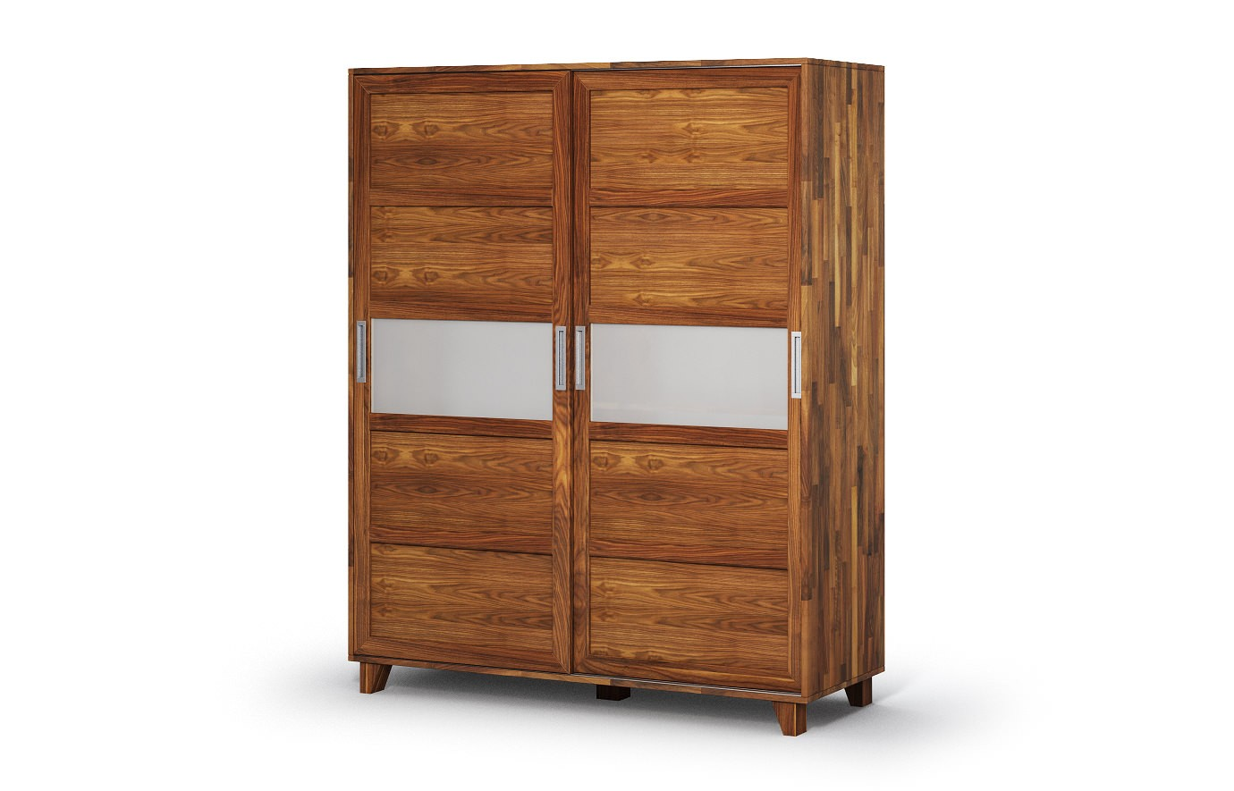 phoenix in nussbaum kleiderschrank nach ma. Black Bedroom Furniture Sets. Home Design Ideas