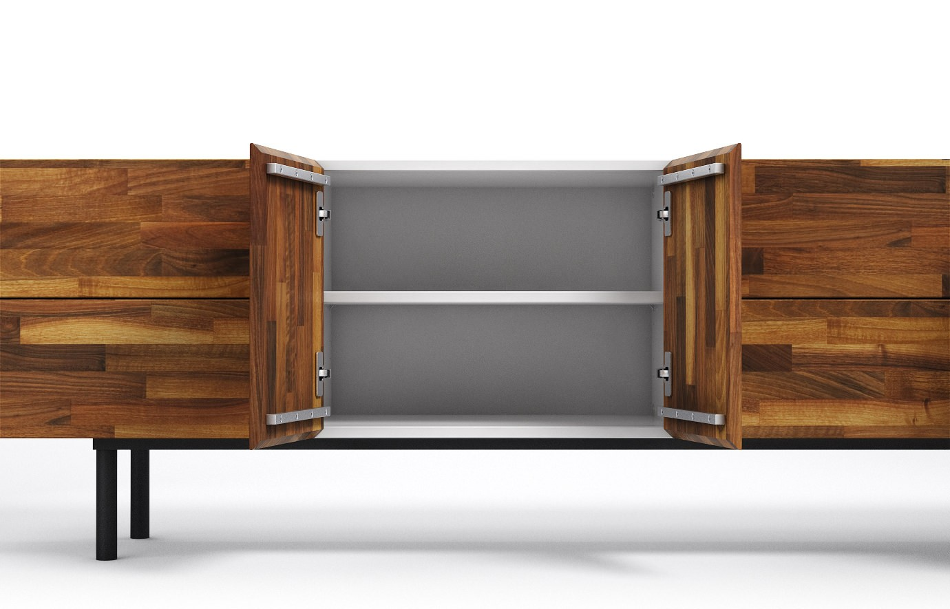 varna in nussbaum sideboard. Black Bedroom Furniture Sets. Home Design Ideas