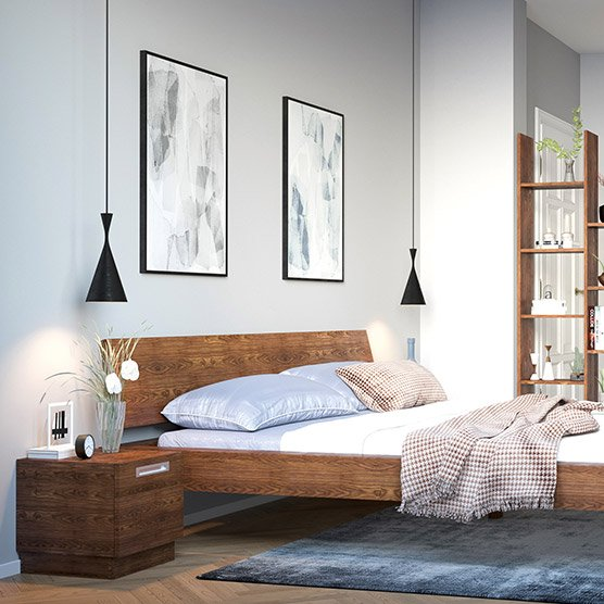 holzconnection betten nach ma de. Black Bedroom Furniture Sets. Home Design Ideas